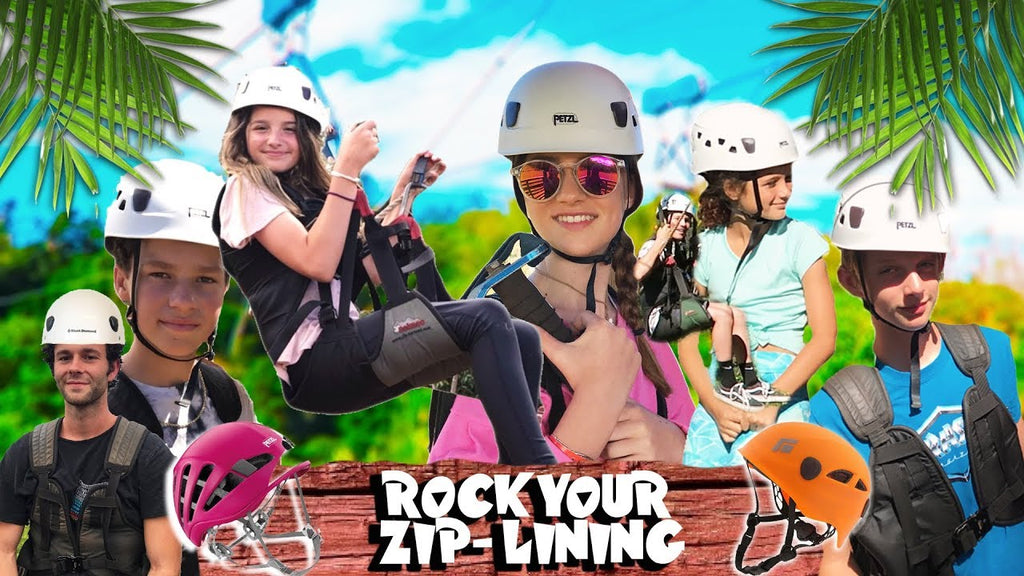 Cool Kids in Hawaii Part 4: Zip-Lining