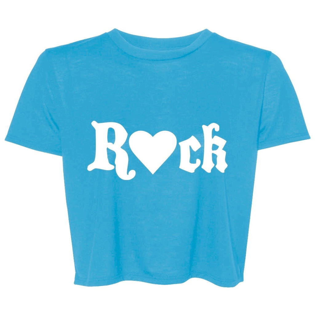 Blue Rock Crop Tee