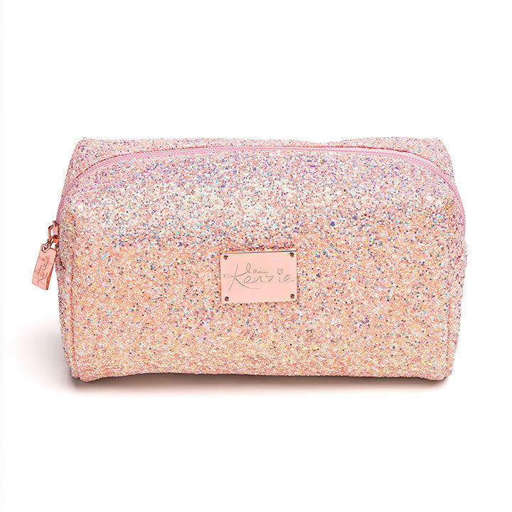 Love Kenzie Glitter Makeup Bag