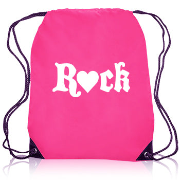 ROCK Drawstring Bag