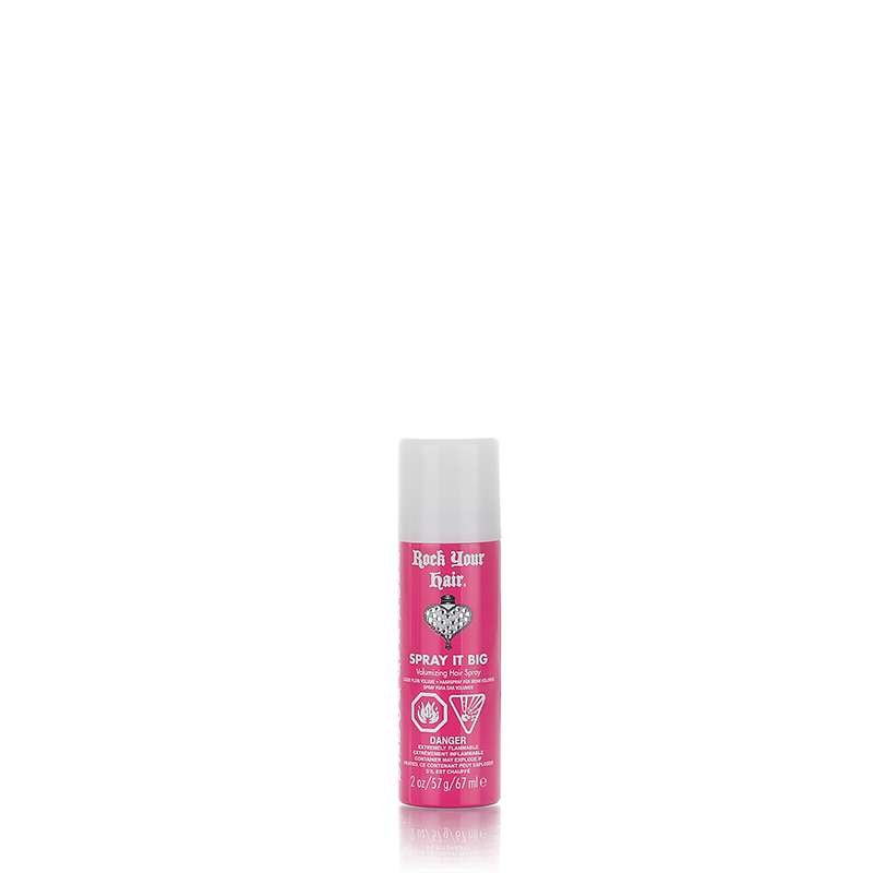 Spray It Big Volumizing Hair Spray 2 oz. (Travel Size)  Rock Your Hair