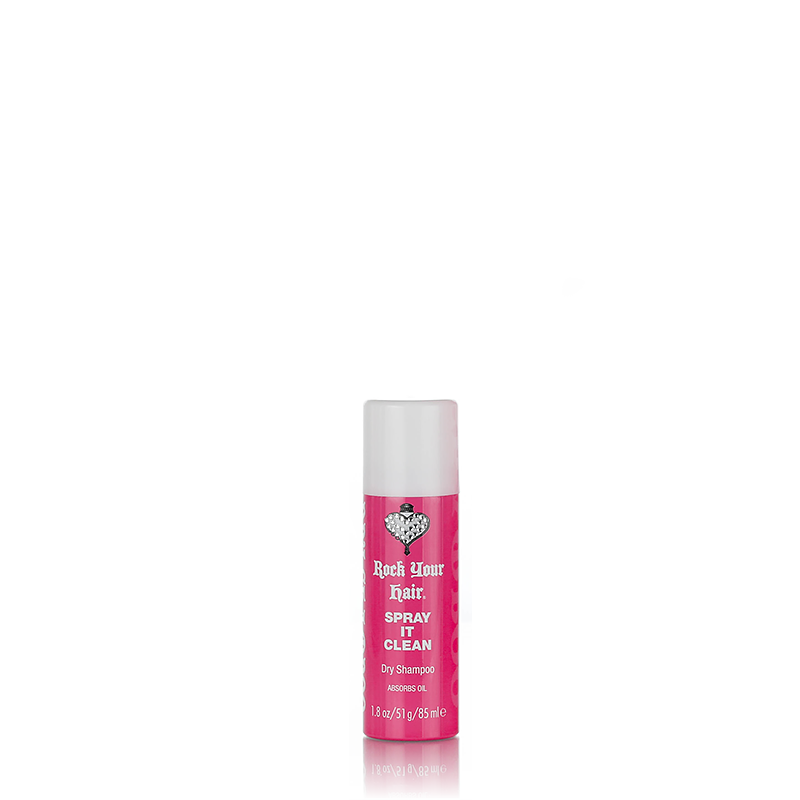 Spray It Clean Dry Shampoo 1.8 oz. (Travel Size)  Rock Your Hair