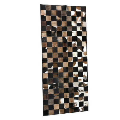 Hair-On Goat Hide Area Rug