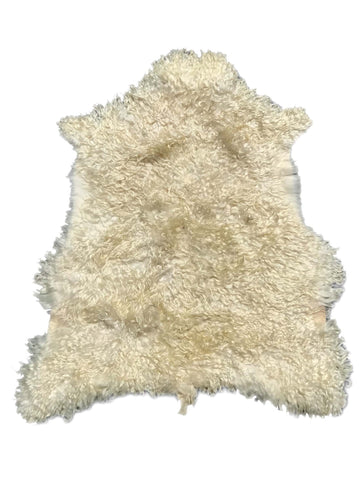 Hair-On Angora Hide