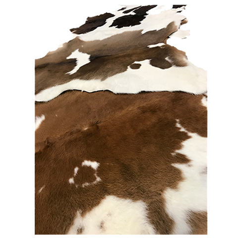 Hair On Calf Hide - Brown & White