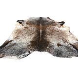 Exotic long horn hair on cowhides - Second grade