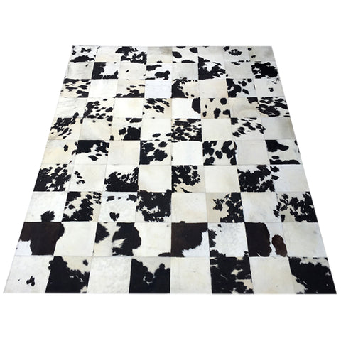 Oversize Hair on Cowhide Area Rug