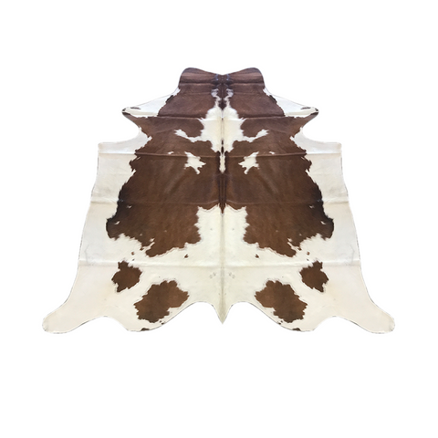 Hair On Cow Hide - Brown & White