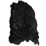 Black hair on angora hide - First grade
