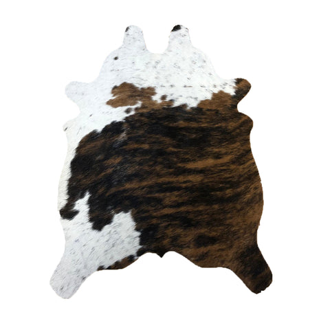 Speckled Tricolor cut out cowhides
