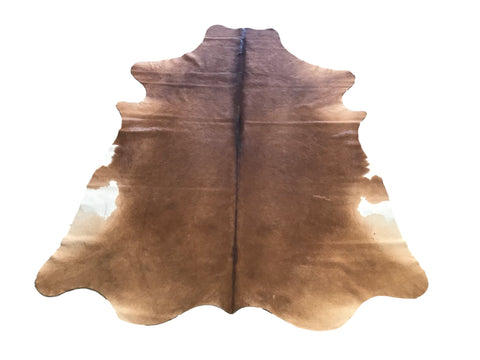 Hair-On Cow Hide - Solid Brown