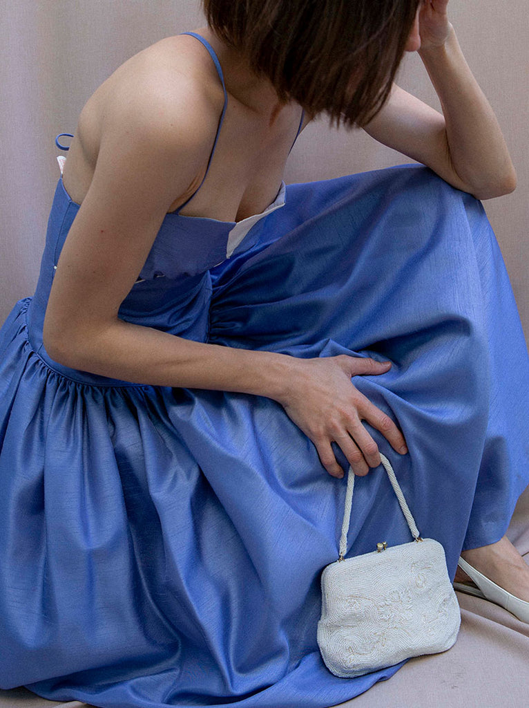 That beautiful vintage blue dress