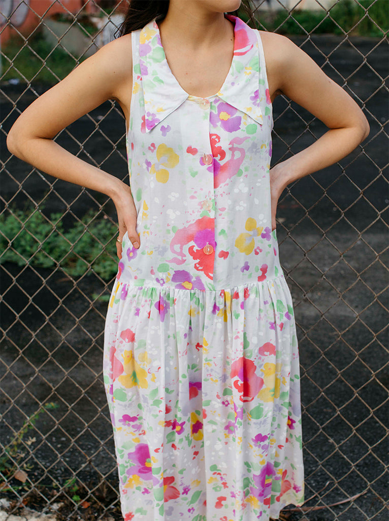 Beautiful Flower Summer Dress