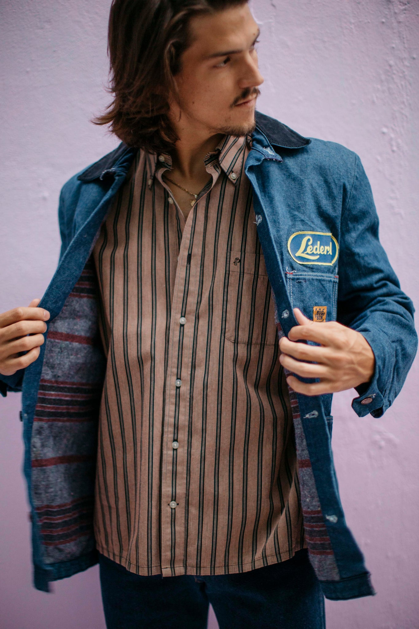 1980's/ 70's Big Ben denim work jacket