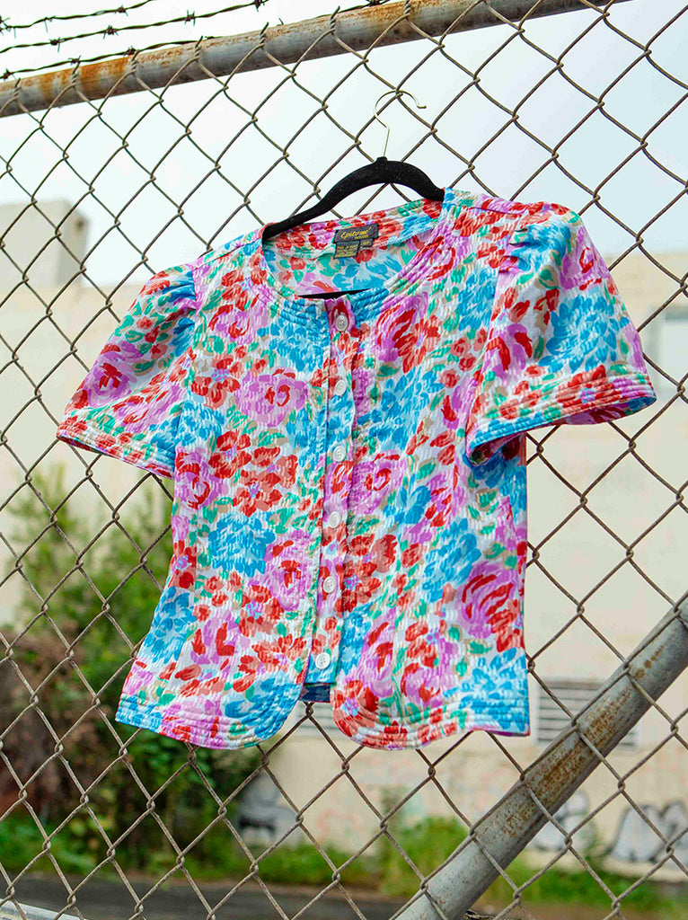Beautiful flower blouse