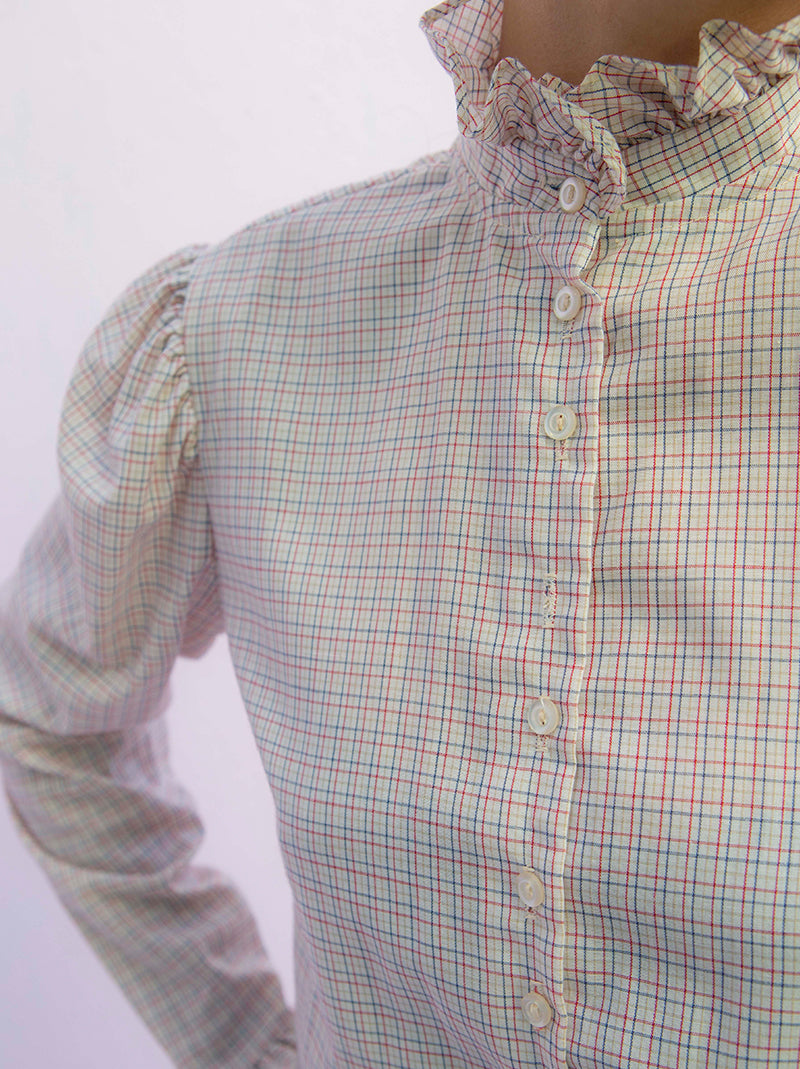 Vintage C'est Belle french country style top blouse