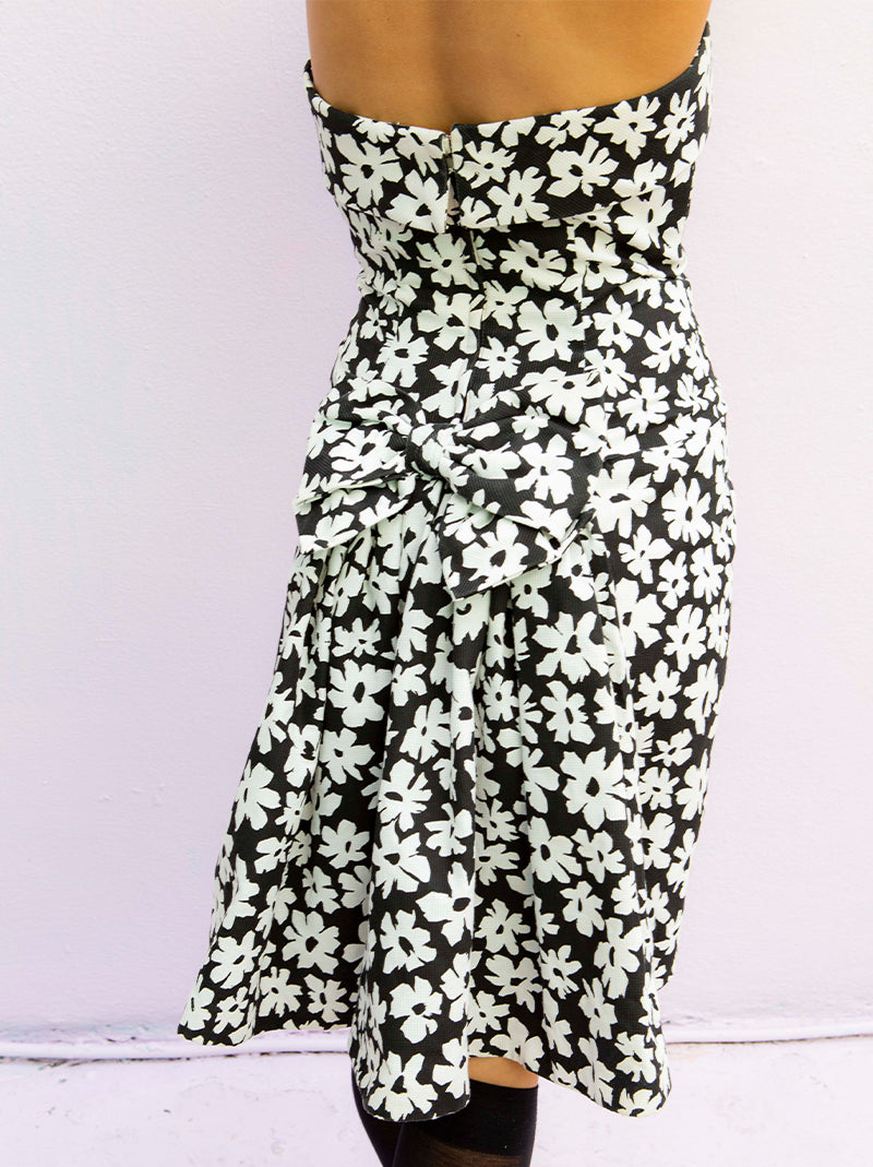 Vintage Victor Costa strapless dress