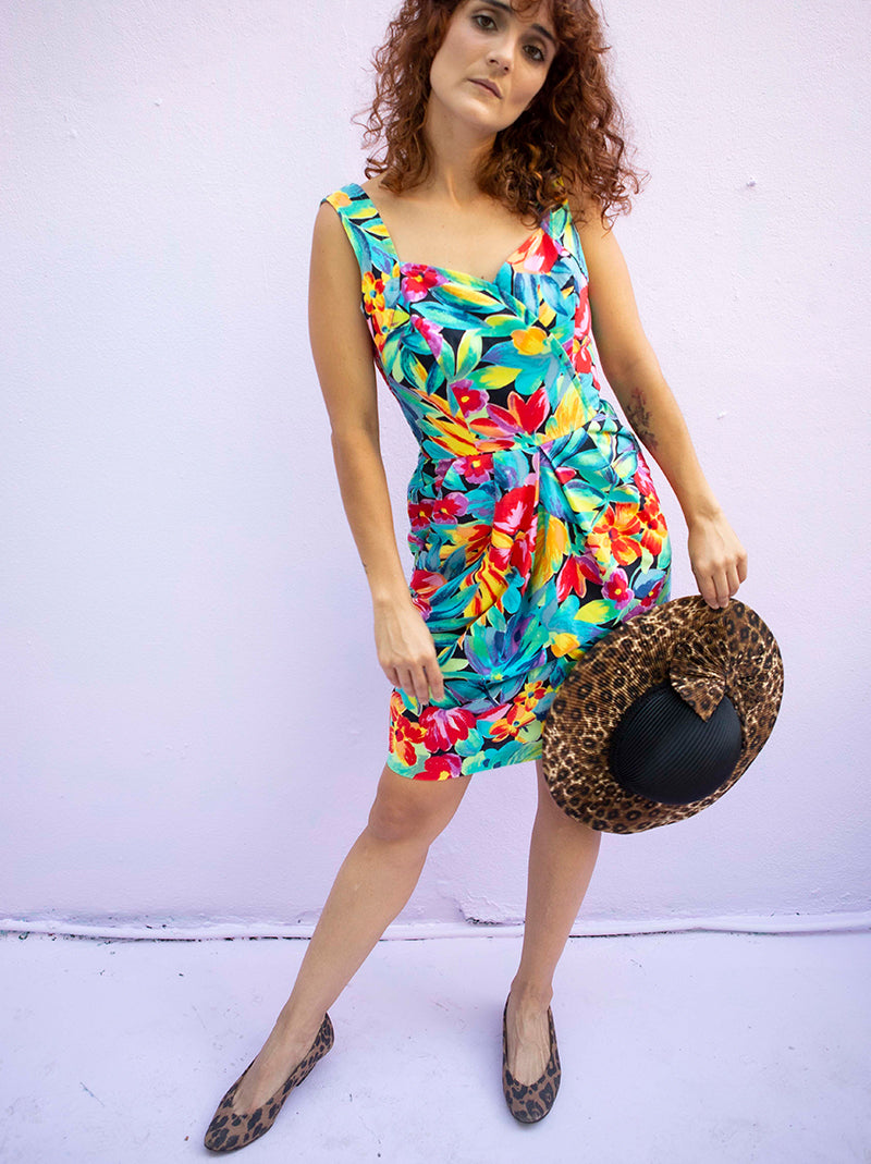 That tropical & fabulous dress