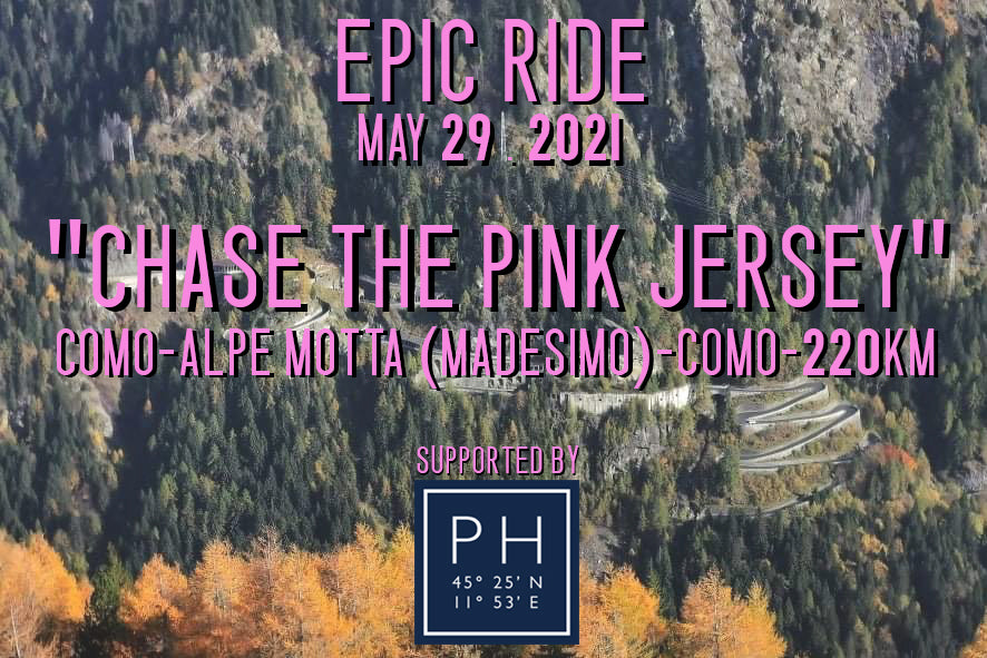 EPIC RIDE - CHASE THE PINK JERSEY - May 29 2021