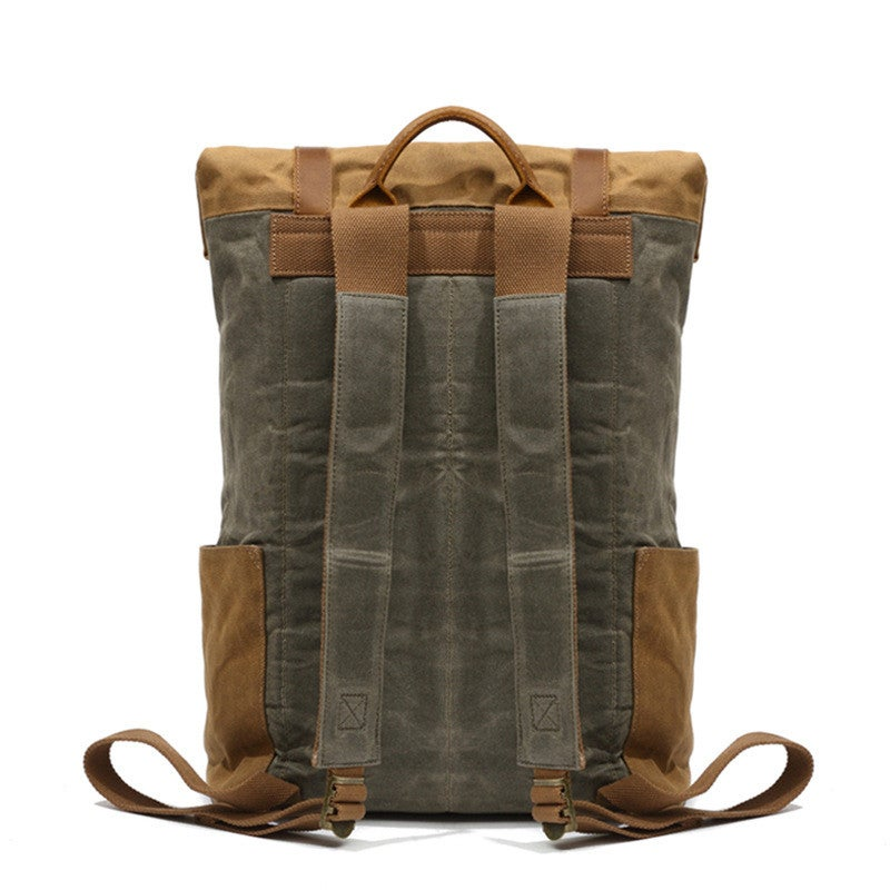 Waxed Travel Backpack