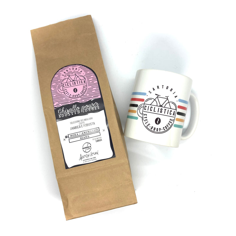 Coffee LOVEr pack (Grinded or Beans + Mug)