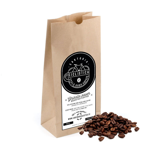 Ghisallo power - Beans (to be grinded) - 500gr