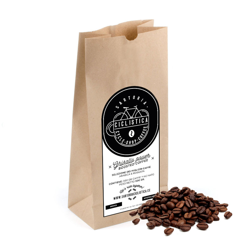 BUNDLE Ghisallo power - BEANS (to be grinded) - 6 packs for 5