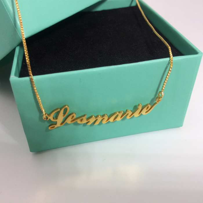 Best Personalized Bridesmaid Gifts Jewelry--Custom Name Necklace