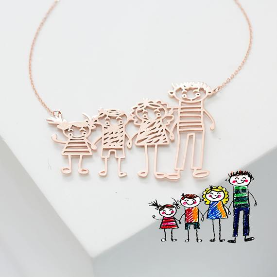4 Name Necklace