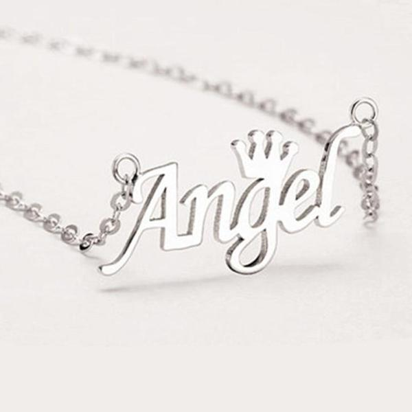 Custom Silver Necklace For Your Baby Girl