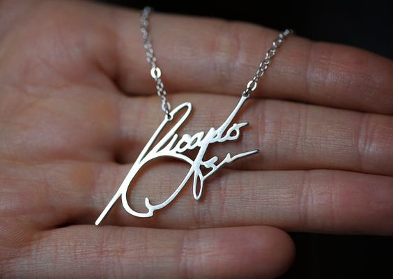 The Name Necklace For Girlfriend