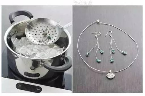 A Super Efficient Way To Clean Your Silver Personalized Jewelry At Home