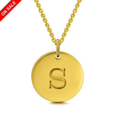 Million Pendant Engraved Necklace