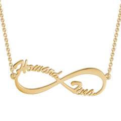 Custom Gold Plated Necklace