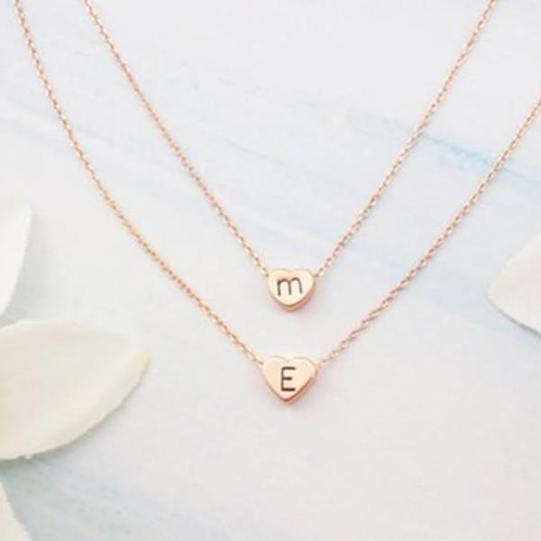 14k gold personalized jewelry customized hollow name necklace