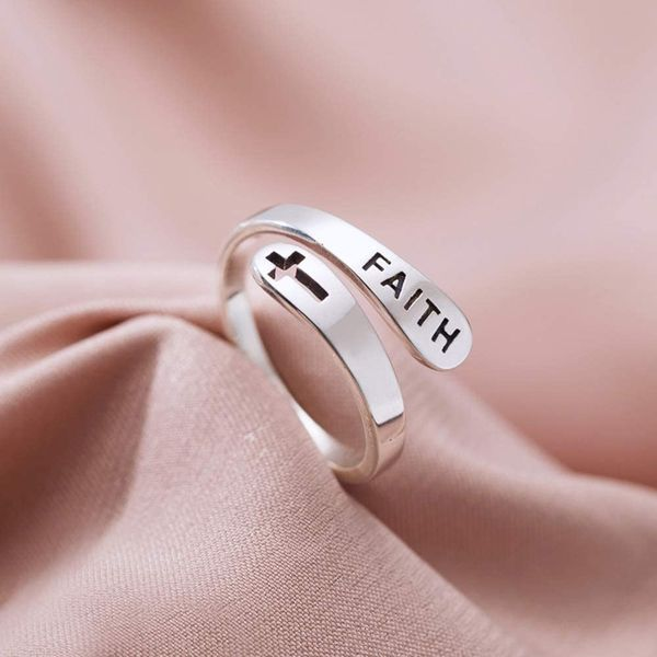 Copper/925 Sterling Silver The Original Faith Ring