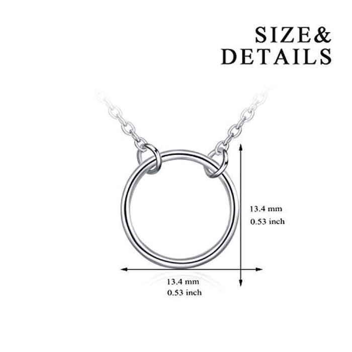 Sterling Silver Layered Choker Satellite Beaded Curb Ball Heart Chain Necklace for Women Girls,Gift for Mother or Wife