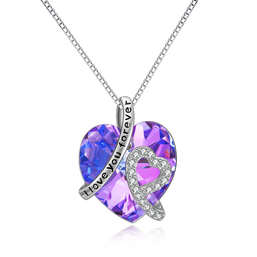 Heart Necklace ♥Jewelry Gifts for Women♥ Crystals from Swarovski, Jewelry with Gifts Package