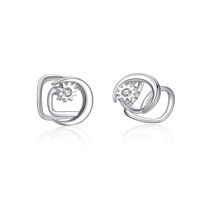 Earring for Women 925 Sterling Silver Non Pierced Ear Cartilage Clip Earrings for Women Girl