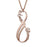 "Copper/925 Sterling Silver Personalized Infinity Couple Name Necklace Adjustable 16""-20"""