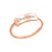 10K/14K Gold Personalized Engraved Simple Ring