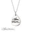 "925 Sterling Silvert Personalized Engraved Teardrop Signature Necklace Adjustable 16""-20"""