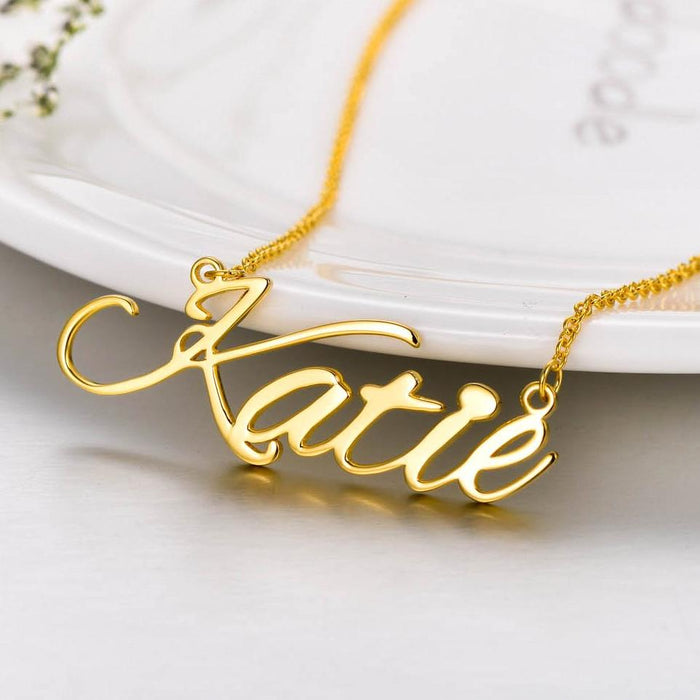 Katie Copper 925 Sterling Silver Personalized Classic