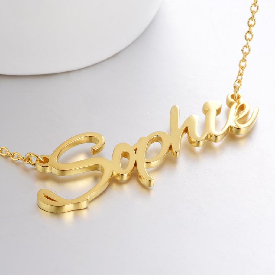 Sophie - Personalized Name Necklace