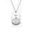 Copper/925 Sterling Silver Personalized Dog Tag Necklace