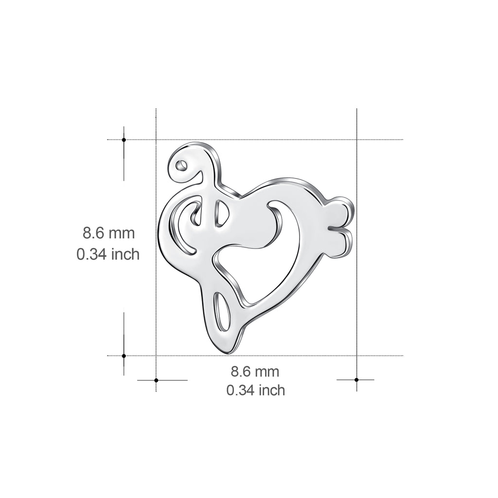 925 Sterling Silver Charming Stud Earring For Women