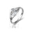 925 Sterling Silver Shinning Zircon Wedding Ring Gift for Woman or Girlfriend