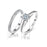 925 Sterling Silver Jewelry Ring Wedding Ring Gift for Girlfriend and Woman