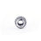 Fashion White Cubic Zirconia Sterling Silver Charm For Bracelet and Necklace