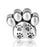 """Love My Pet"" Paw Charm for Bracelet and Necklace 925 Sterling Silver"